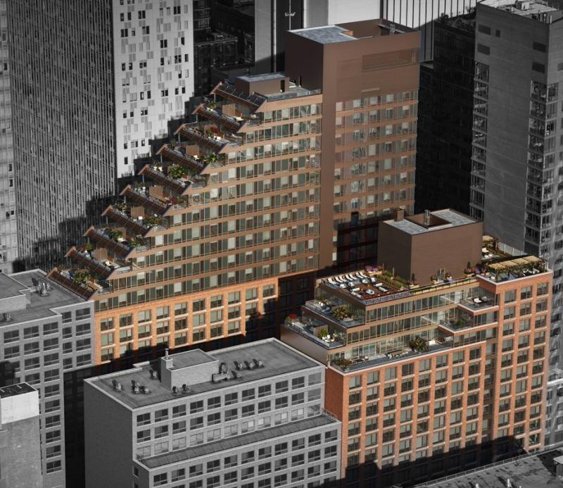 5 West Apartments: 525 West 52nd Street Rentals
