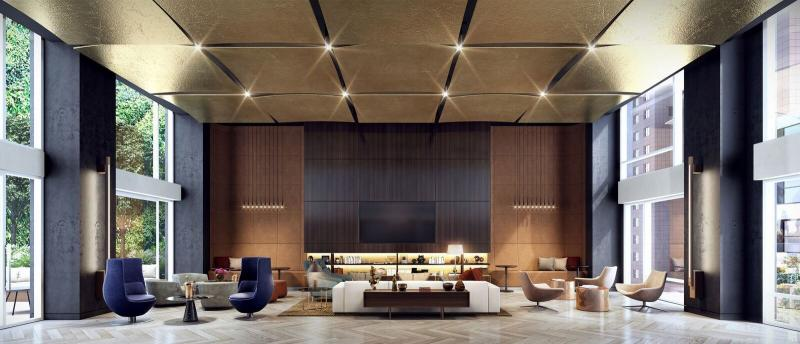 Lobby at Oskar in NYC - Apartments for rent