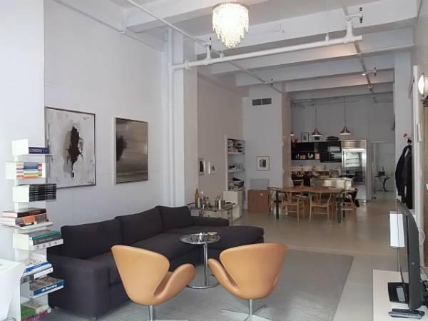 Livingroom - 8 Beach Street - Tribeca - Convertible 2 For Rent