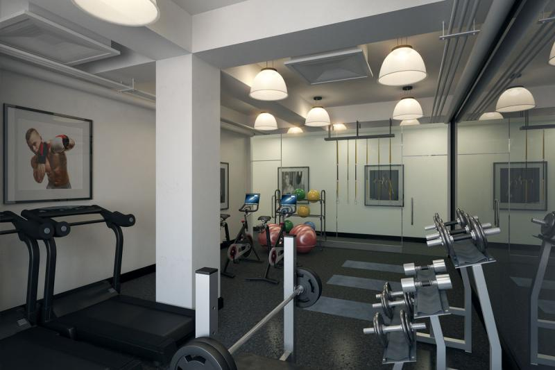Gym at 915 West End Ave in NYC - Apartments for rent