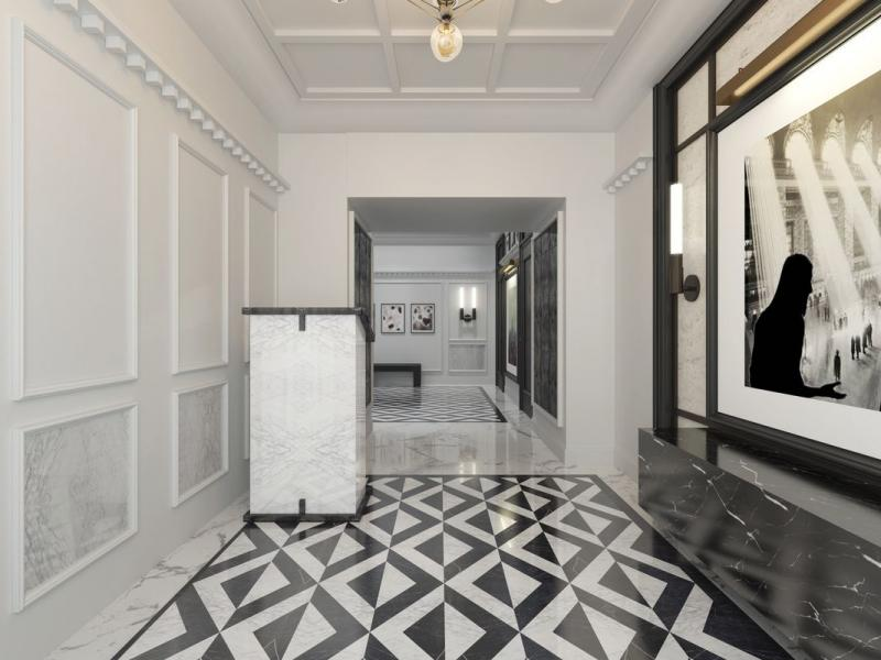 Lobby at 915 West End Ave in NYC - Apartments for rent
