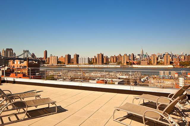 Apartments for rent at 99 Gold Street - Rooftop