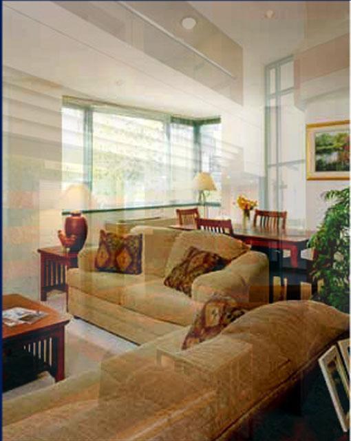 10-40 River Road Living Room - Roosevelt Island Rental Apartments