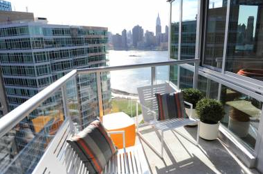 Balcony at 46-15 Center Boulevard - LIC Luxury Rentals