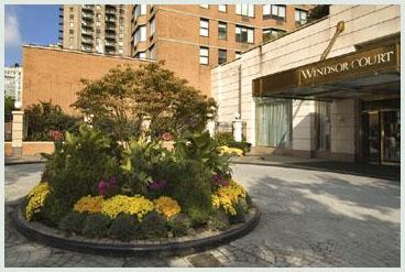 Windsor Court Main Entrance - Murray Hill Apartment Rentals