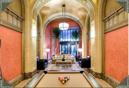 90 West Street Entertaining Room - Financial District Apartment Rentals