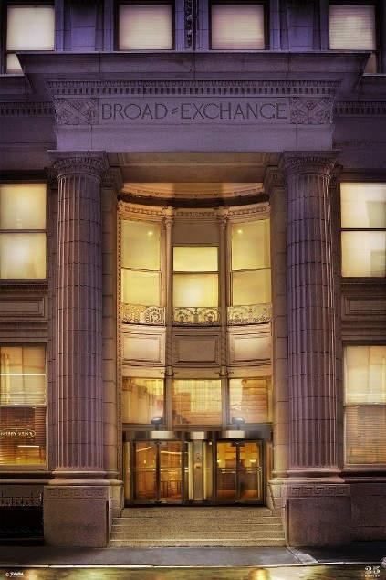 The Exchange Entrance - Financial District Apartment Rentals