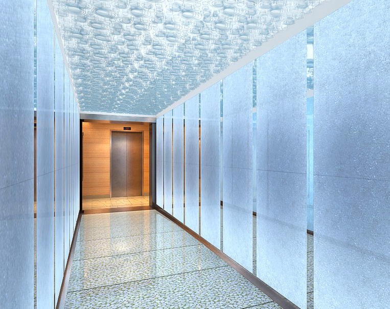 Hallway the Corner 200 West 72nd Street