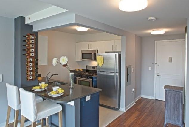 Kitchen of 101 Avenue D - East Village Luxury Rental Apartments
