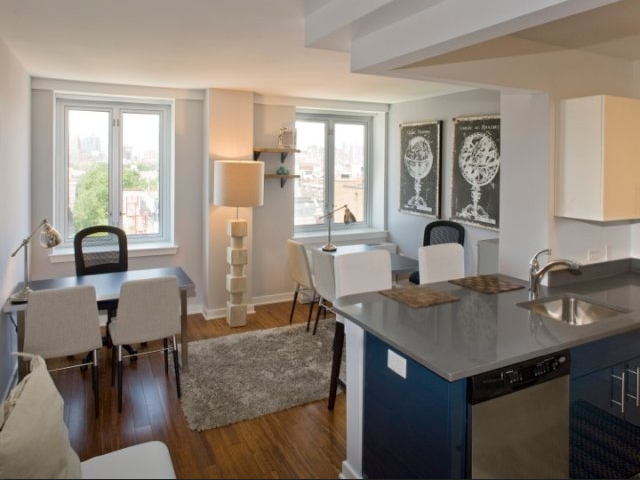 Kitchen/Living Room - Arabella 101 - East Village Apartments