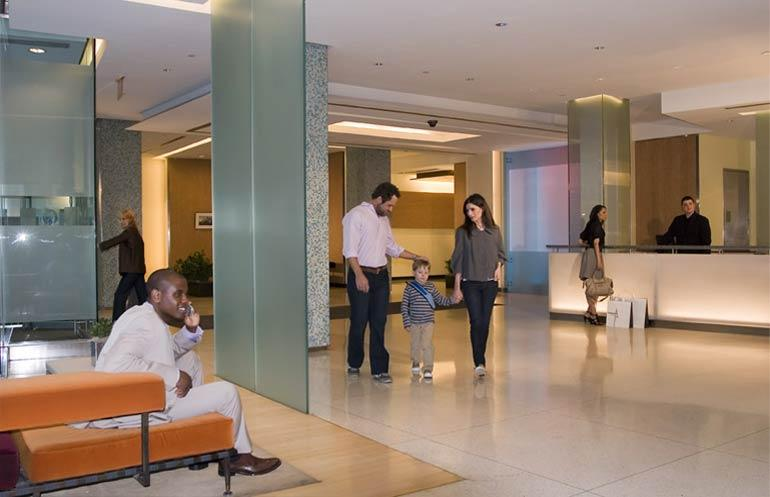 50 Murray Street Lobby - Tribeca Rental Apartments