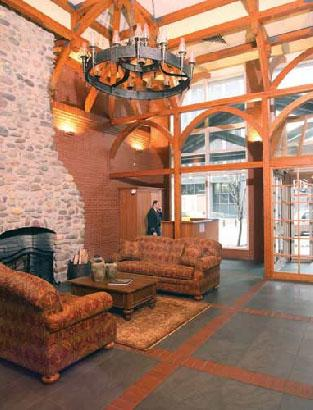95 Worth Street Lobby - Tribeca Rental Apartments