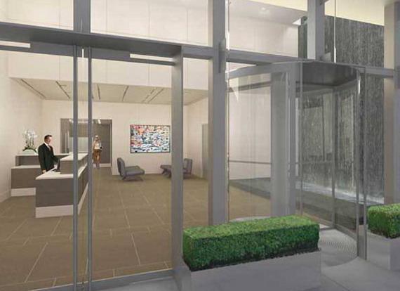 Townsend Lobby – Clinton Apartment Rentals