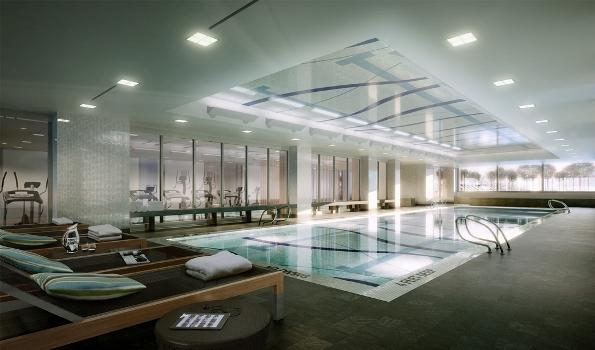 450 West 42nd Street Pool - Clinton Rental Apartments