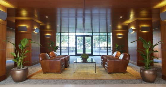 70 Battery Place Lobby - Financial District  Rental Apartments