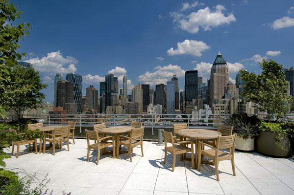510 West 52nd Street Roofdeck - Clinton Rental Apartments
