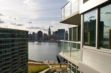 View from 46-15 Center Boulevard - Long Island City Rentals