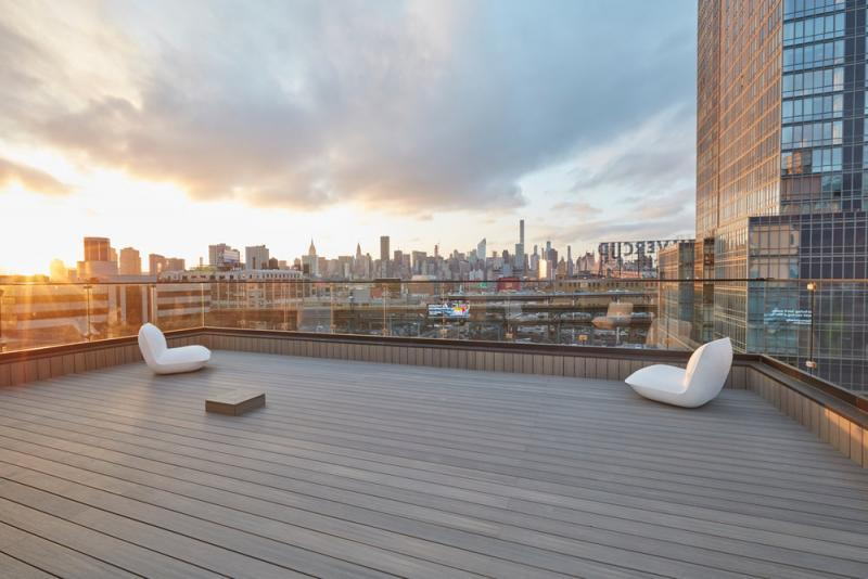 Rooftop Terrace at 24-12 42nd Road in Long Island City - Apartments for rent