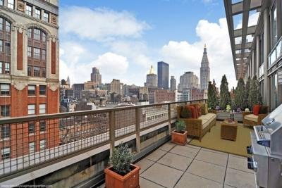 Balcony at The Caroline - luxury rentals manhattan