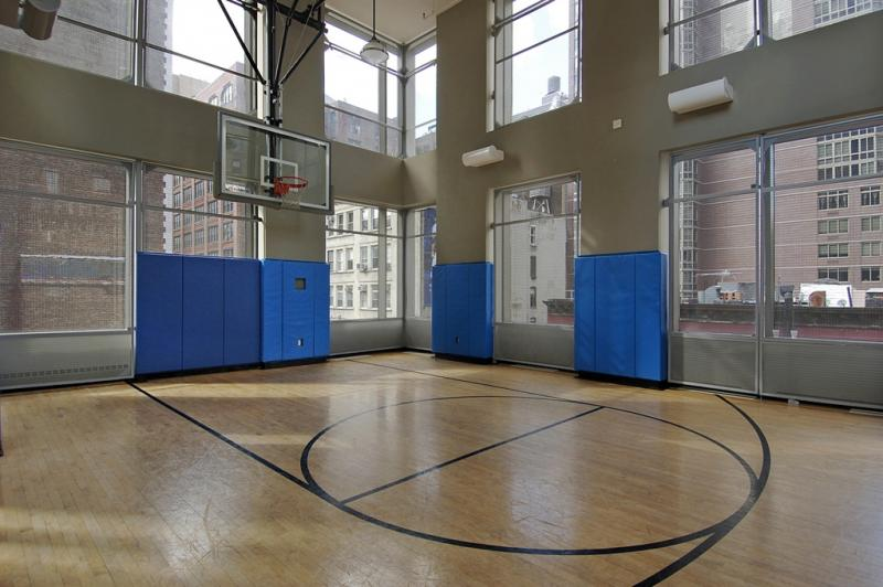 Basketball Court - Chelsea Stratus - NYC