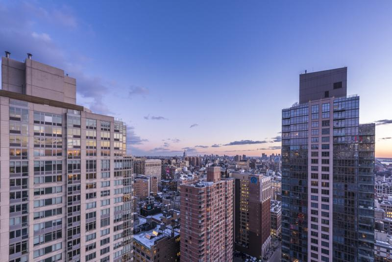 Stunning view from 100 West 26th Street in Chelsea