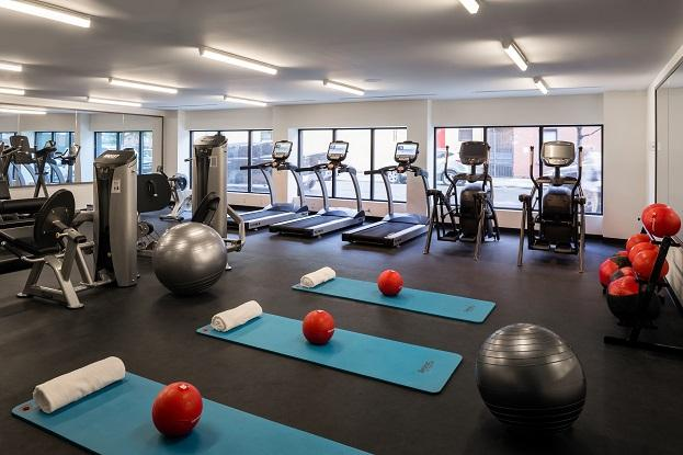 Gym at Eleven 33 - 1133 Manhattan Ave apartments for rent