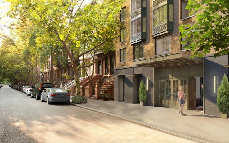 Entrance- 101 West 87th Street- condos for rent in NYC
