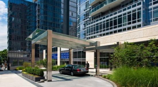 Element Condominium Entrance - Upper West Side NYC Condominiums