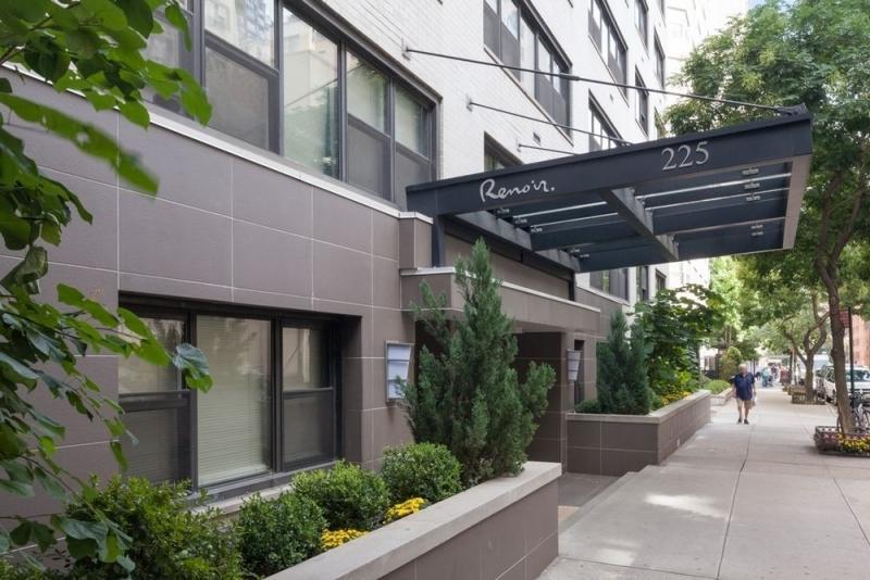 Entrance at Renoir House - 225 East 63rd Street