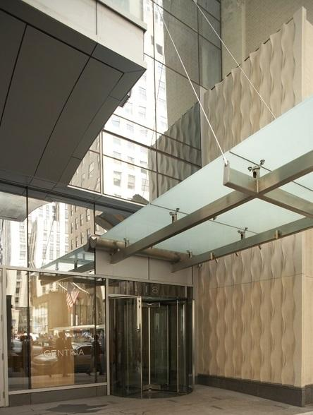 Entrance at The Centria - 18 West 48th Street