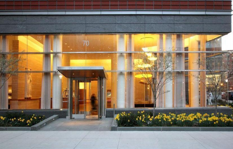 Entrance at 70 Little West Street - Luxury Rentals