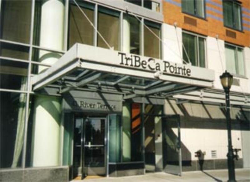 41 River Terrace Entrance - Tribeca Rental Apartments