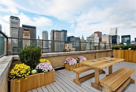 Rooftop at Falcon Tower in NYC - Apartments for rent