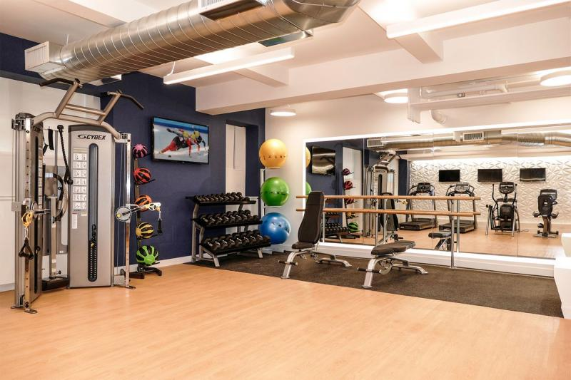 Gym at 4 East 89th Street