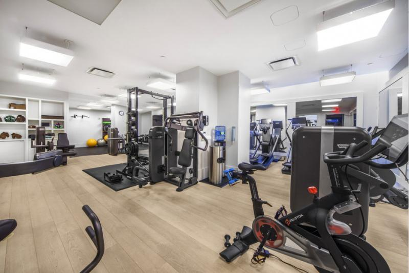 Fitness Room at Huys - 404 Park Avenue South