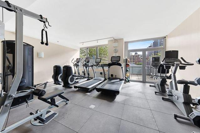 Fitness Room at The Hudson Condominiums - 225 West 60th Street