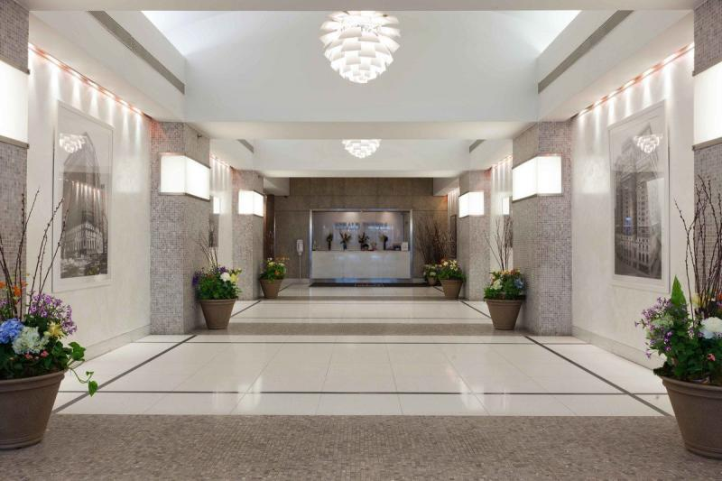 Lobby at Herald Towers in NYC - Apartments for rent