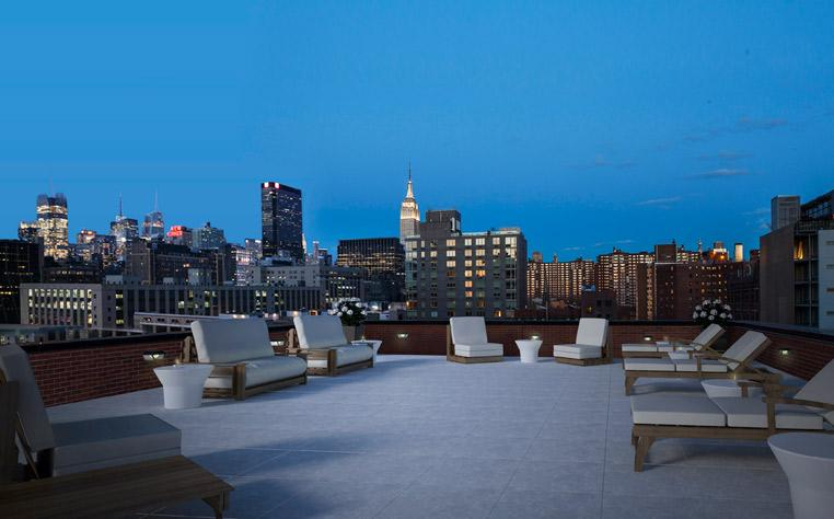 Apartments for rent at High Lane 537 in Chelsea - Rooftop Deck