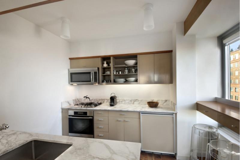 Kitchen at CitySpire - 150 west 56th street - NYC