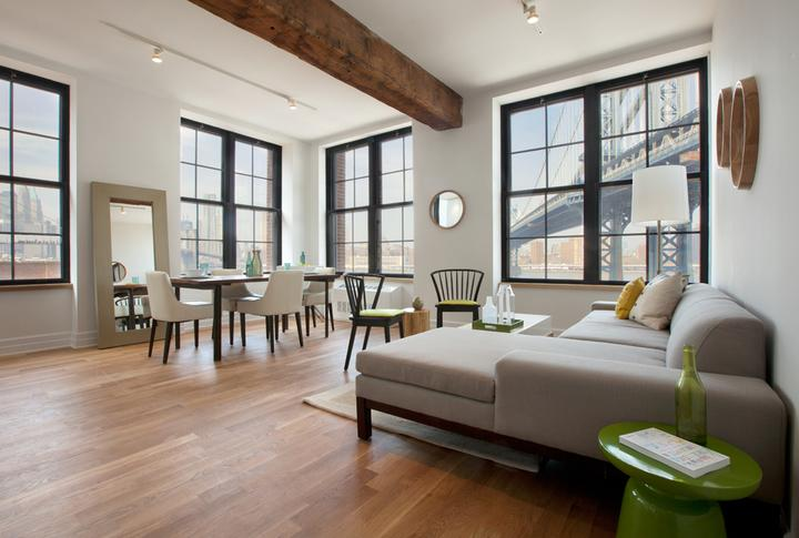 25 Washington Street- Living Room