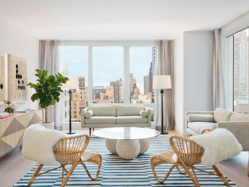 Living Room at The Alyn - 152 East 87th Street