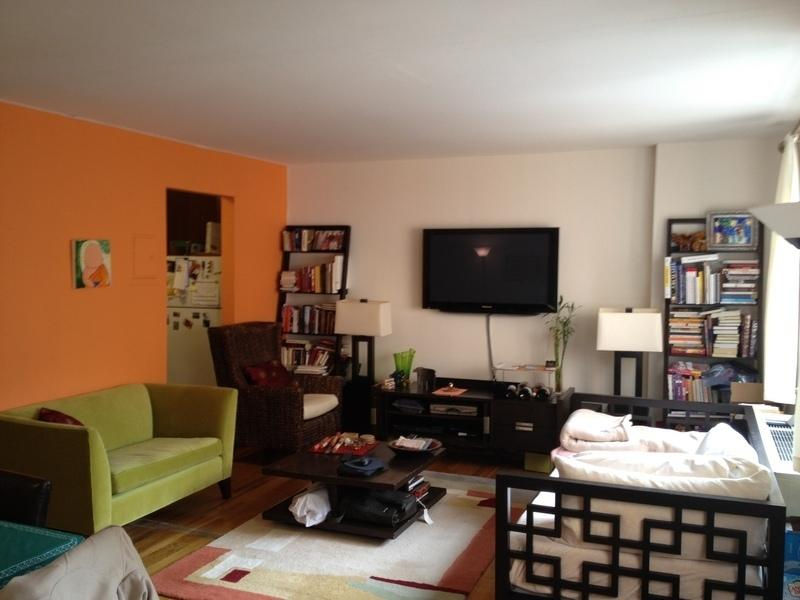 284 Mott Street Living Room - NYC Apartment for Rent