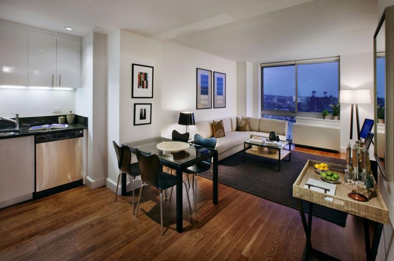 Livingroom - 225 Schermerhorn Street Condominiums for Rent in Brooklyn