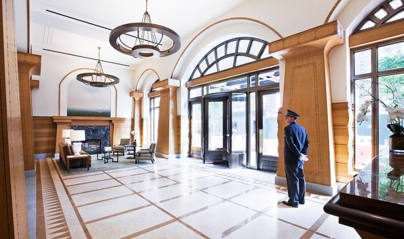 Lobby at 205 West 76th Street - Luxury Rentals