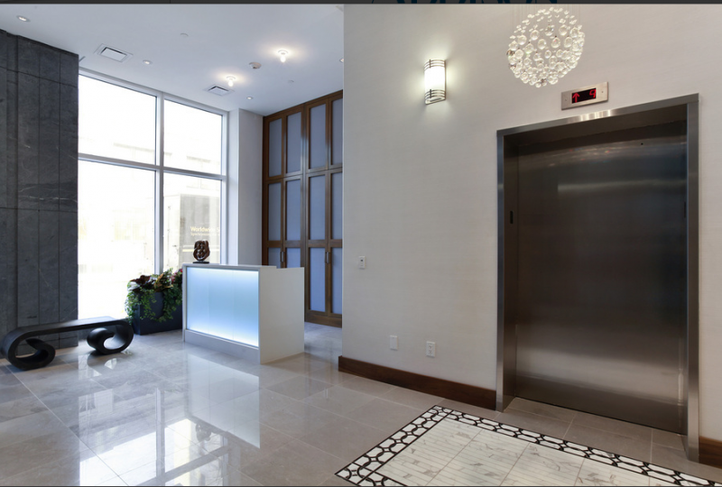 Lobby of Brooklyn Heights Apartments, 75 Clinton Street