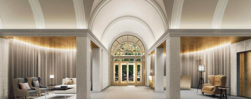 Lobby- 93 Worth Street- condo for rent in NYC
