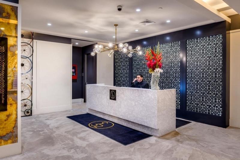 Lobby at Nine52 - 416 West 52nd Street
