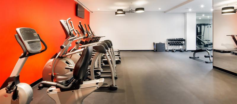 Fitness Center at The Luna in Manhattan - Condos for rent