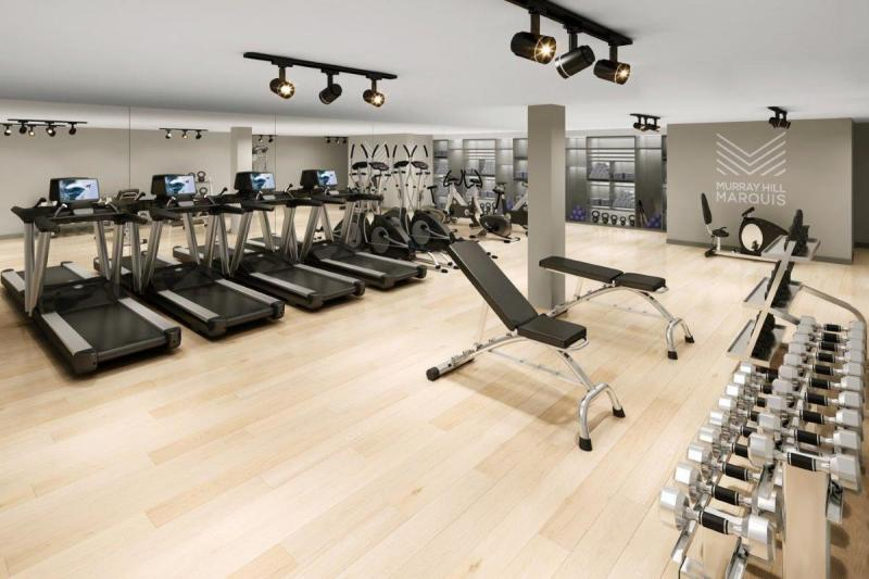 Apartments for rent at Murray Hill Marquis - Gym