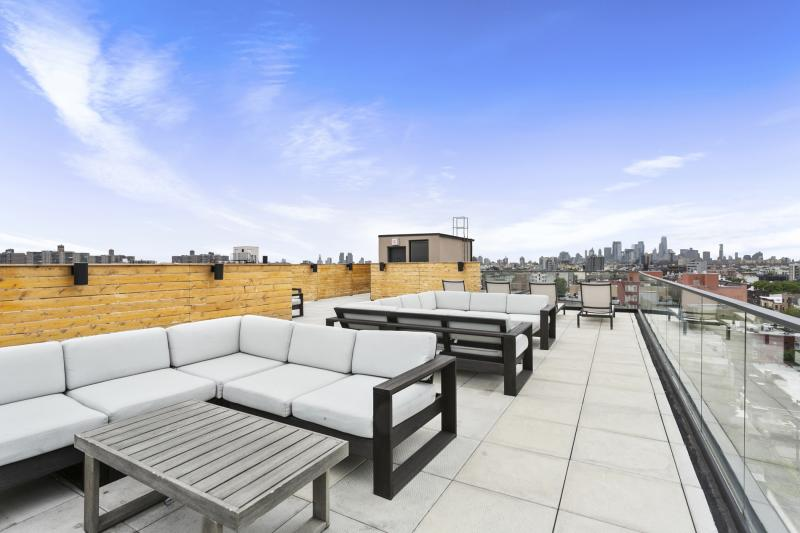 Rooftop Lounge at 371 Humboldt Street